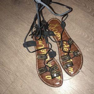 BRAND NEW Sam Edelman lace up sandals